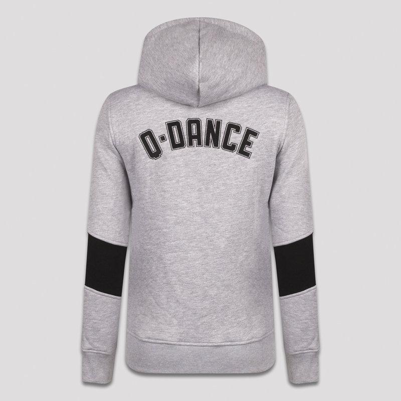 Q-dance hoodie heather grey