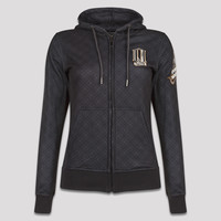 Q-dance hooded zip anthracite