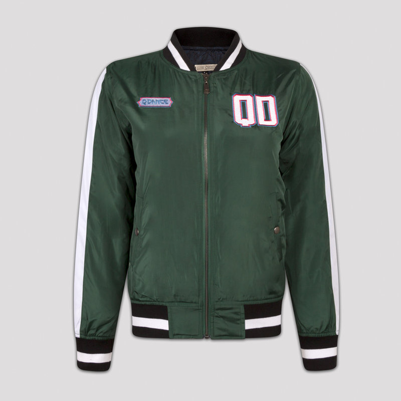 Q-dance bomber green