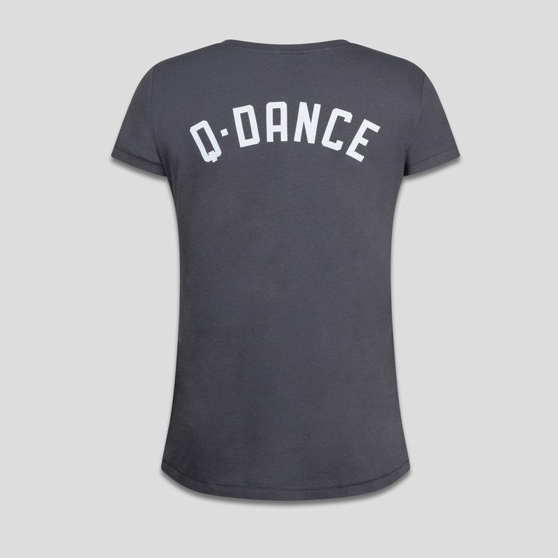 Q-dance t-shirt anthracite
