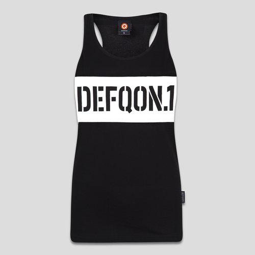Defqon.1 tanktop black/white