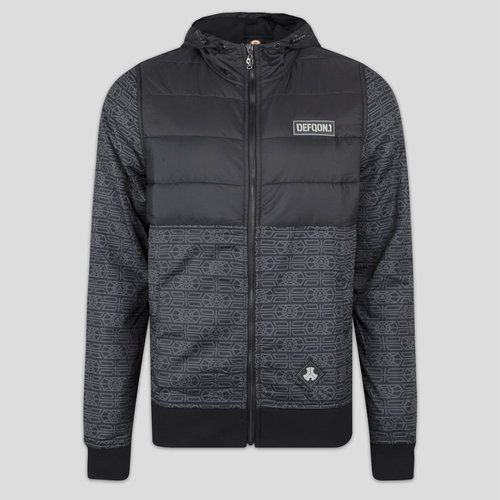 Defqon.1 half padded jacket black