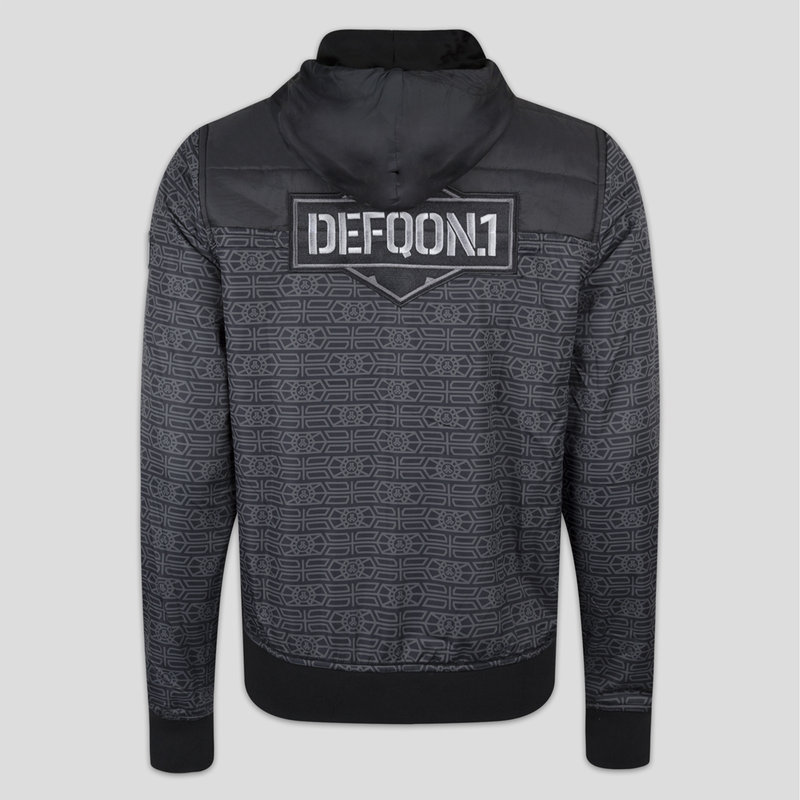 Defqon.1 half padded jacket black