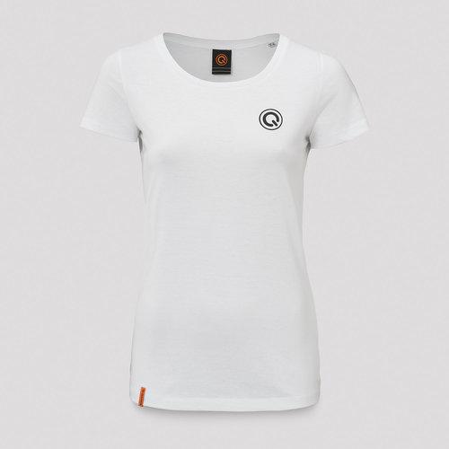 Q-dance t-shirt white