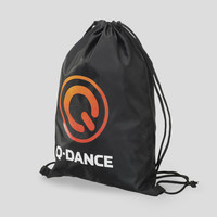 Q-Dance stringbag black