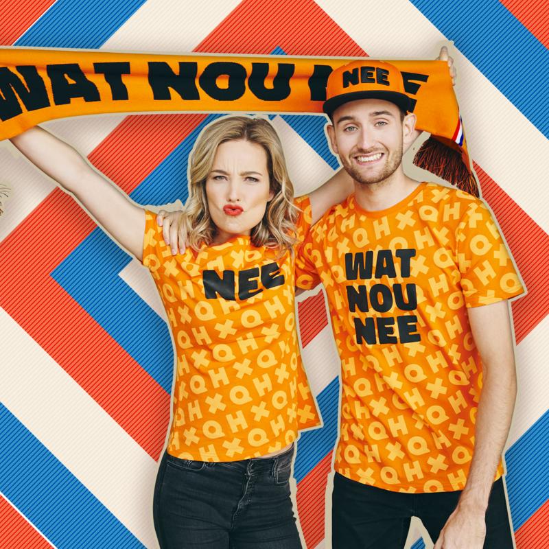 X-Qlusive Holland scarf wat nou nee