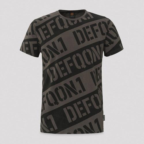 Defqon.1 t-shirt black/grey