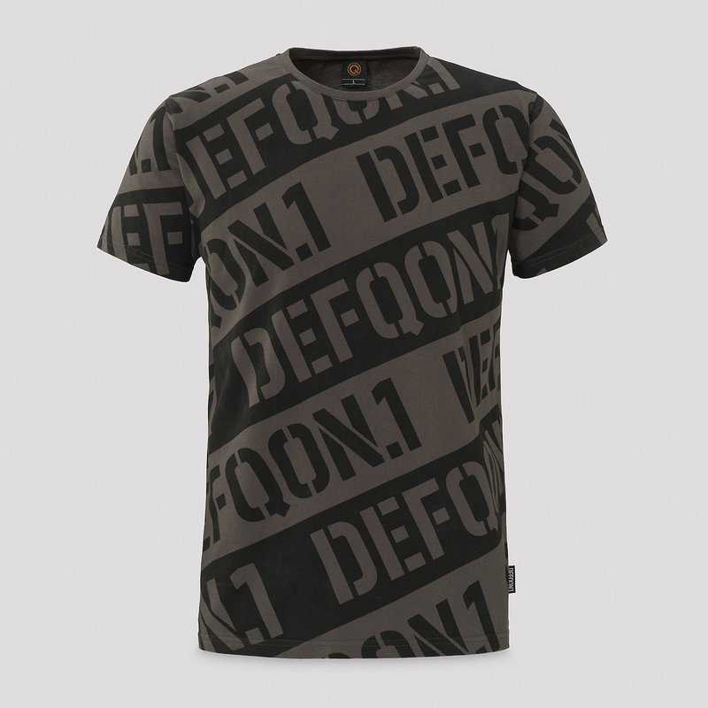 Defqon.1 t-shirt black/grey