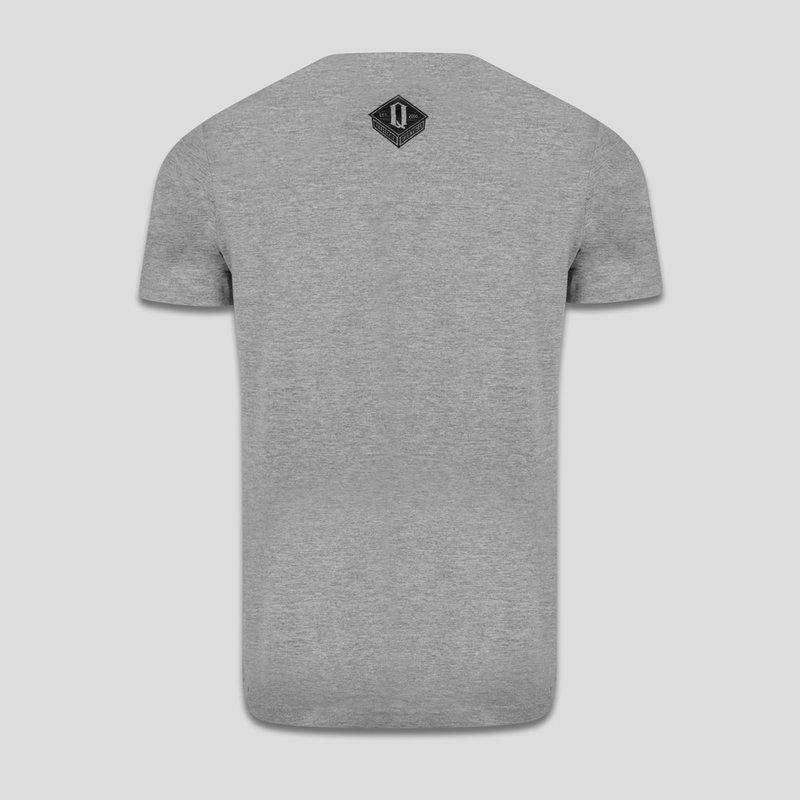 Q-dance hfs t-shirt heather grey