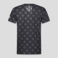 Q-dance t-shirt pattern/black