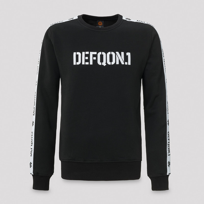 Defqon.1 crewneck black/tape