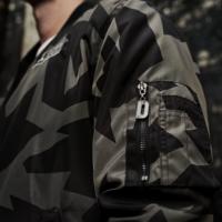 Defqon.1 bomber camo/grey