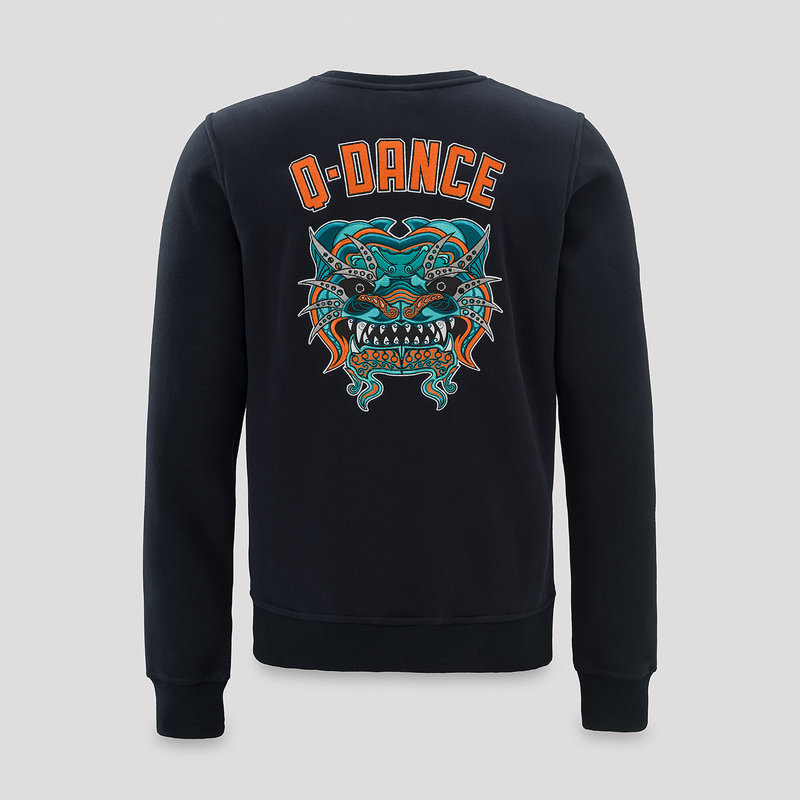 Q-Dance crewneck navy