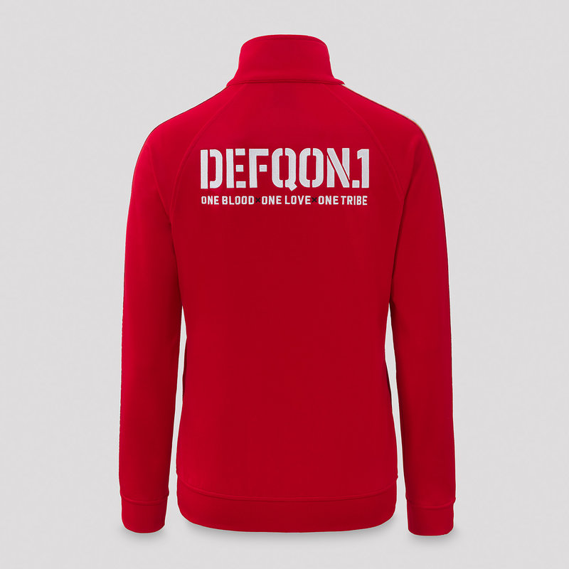 Defqon.1 track jacket red/tape