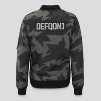 Defqon.1 bomber grey/camo