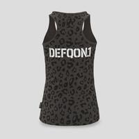 Defqon.1 tanktop grey/leopard