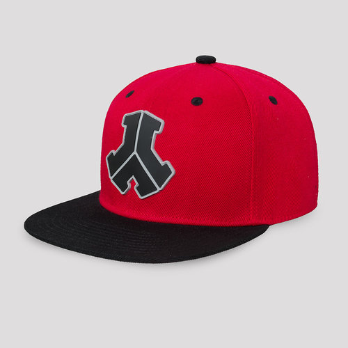Defqon.1 snapback red/black