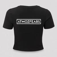 Atmozfears short tee black/white