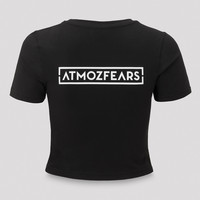 Atmozfears short tee black/white