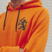Q-Dance hoodie orange/black