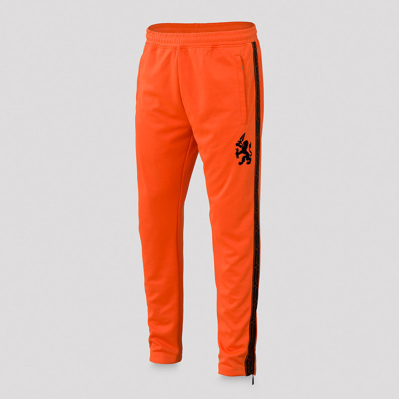 Q-Dance track pants orange/black