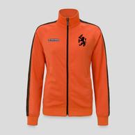 Q-Dance track jacket orange/black