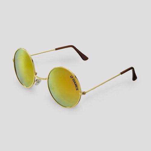 Q-Dance sunglasses gold/orange