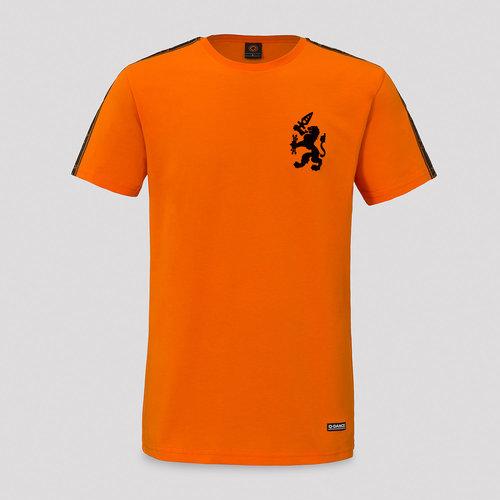 Q-dance t-shirt orange/tape