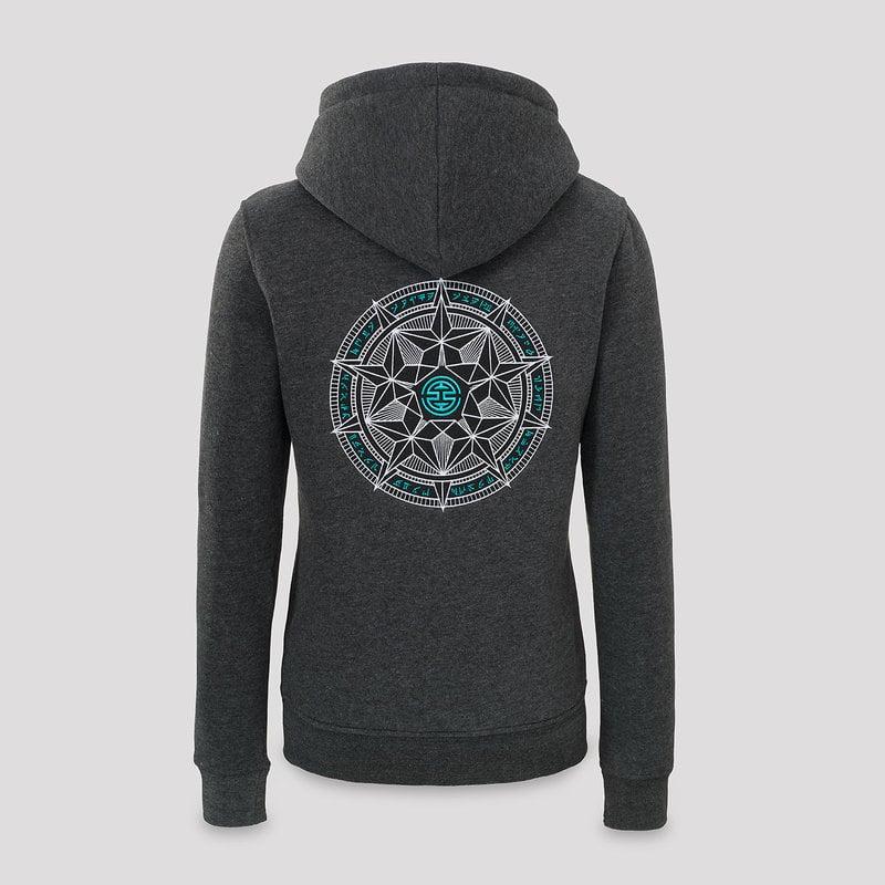 Qlimax hoodie dark grey