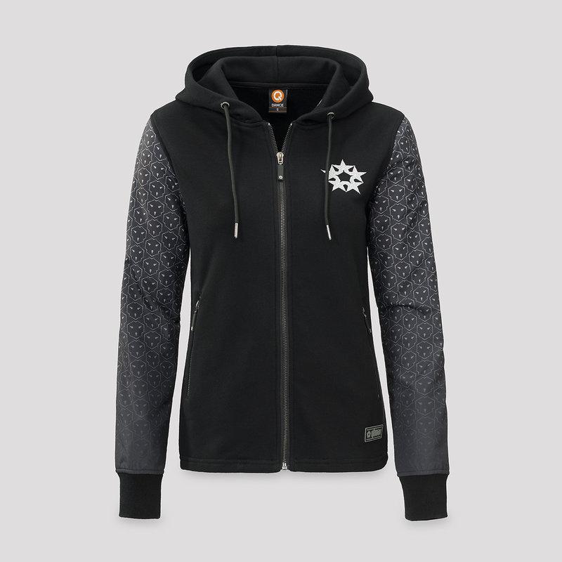 Qlimax nylon sweat black/pattern