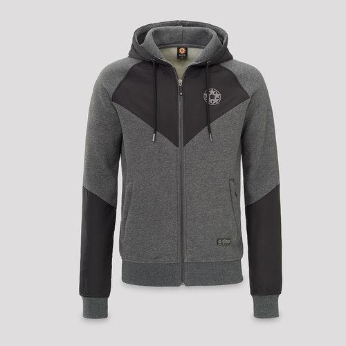 Qlimax nylon sweat grey
