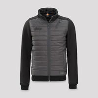 Qlimax padded jacket dark grey