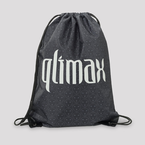 Qlimax stringbag grey/white