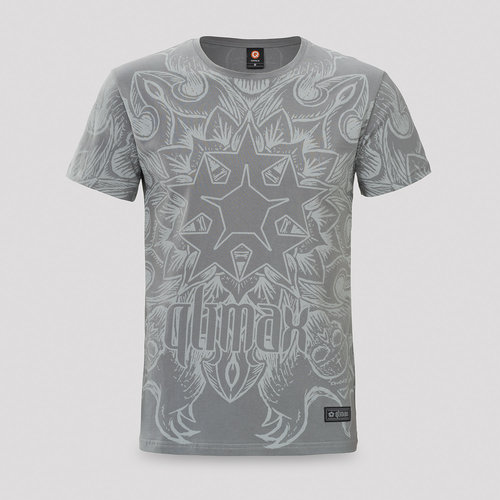 Qlimax t-shirt grey
