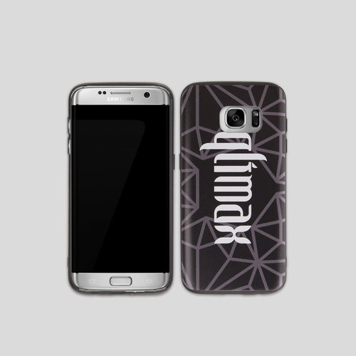 Qlimax samsung phone case grey