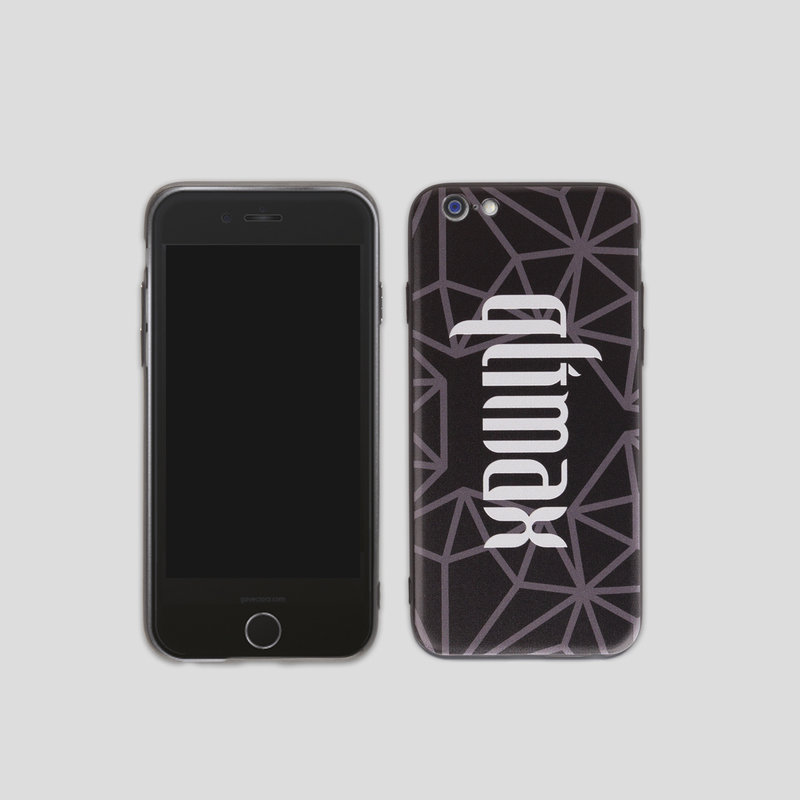 Qlimax iphone case grey