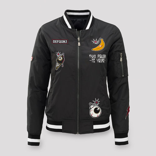 Defqon.1 reversible power hour bomber women