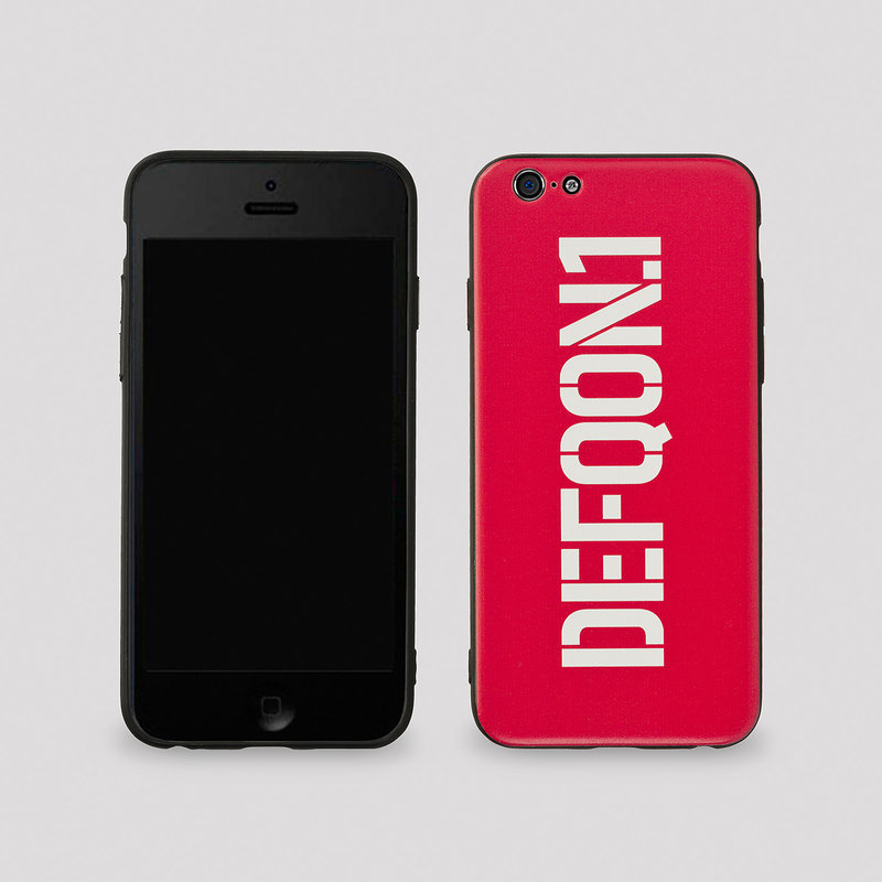 Defqon.1 phone case iPhone/Samsung red