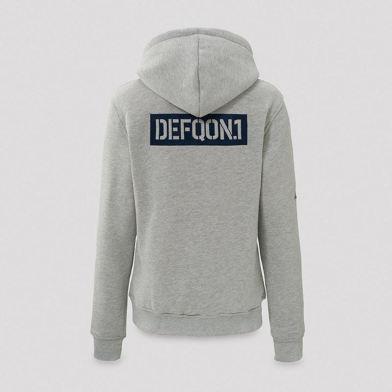 Defqon.1 hoodie heather grey/navy