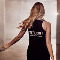 Defqon.1 theme tanktop black/white