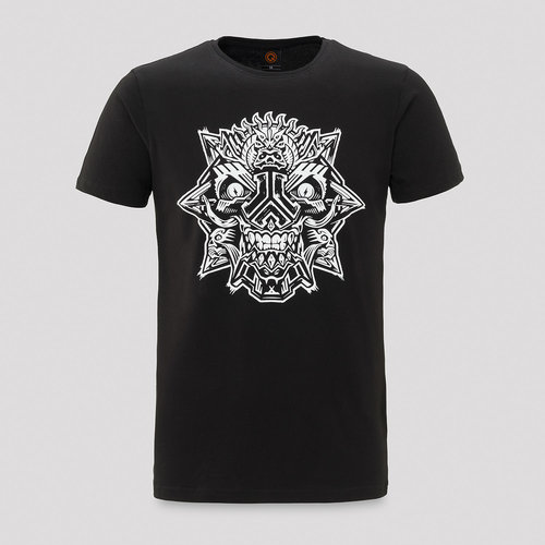 Defqon.1 theme t-shirt black/white