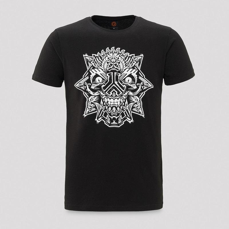 Defqon.1 theme t-shirt black/white