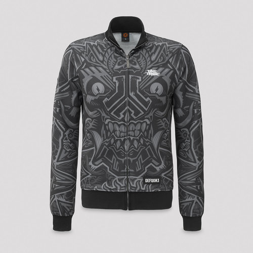 Defqon.1 theme track jacket dark grey