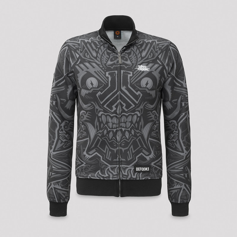 Defqon.1 theme track jacket dark grey