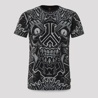 Defqon.1 t-shirt theme black/grey