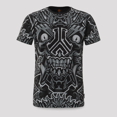 Defqon.1 t-shirt theme black/grey