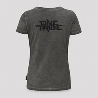 Defqon.1 theme t-shirt grey/stone wash