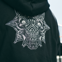 Defqon.1 hooded zip black/one tribe