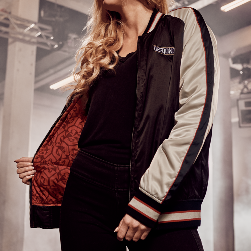 Defqon.1 bomber satin/one tribe