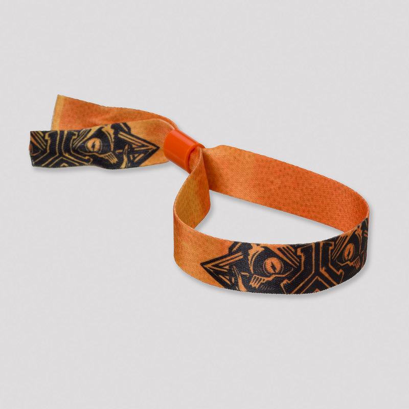 Defqon.1 woven theme bracelet